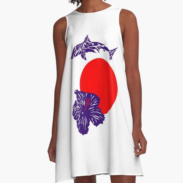 Hawaiian Kings A-Linien Kleid