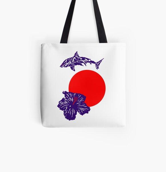 Hawaiian Kings Allover-Print Tote Bag
