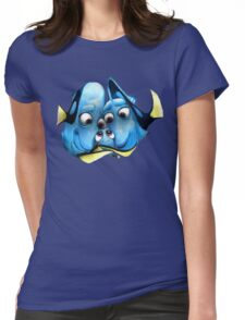 Charlie, Jenny and baby Dory - Finding Dory Womens Fitted T-Shirt