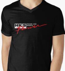 HKS POWER Men's V-Neck T-Shirt