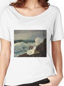 Frederick Judd Waugh - Breaking Surf, N.D. Women's Relaxed Fit T-Shirt