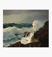Frederick Judd Waugh - Breaking Surf, N.D. Photographic Print