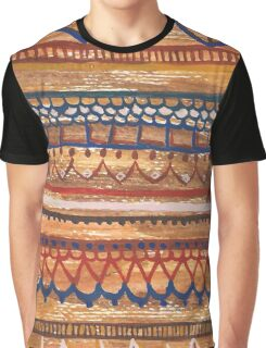 Oriental pattern Graphic T-Shirt