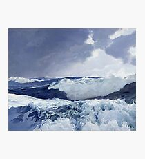 Frederick Judd Waugh - Mid Ocean Photographic Print