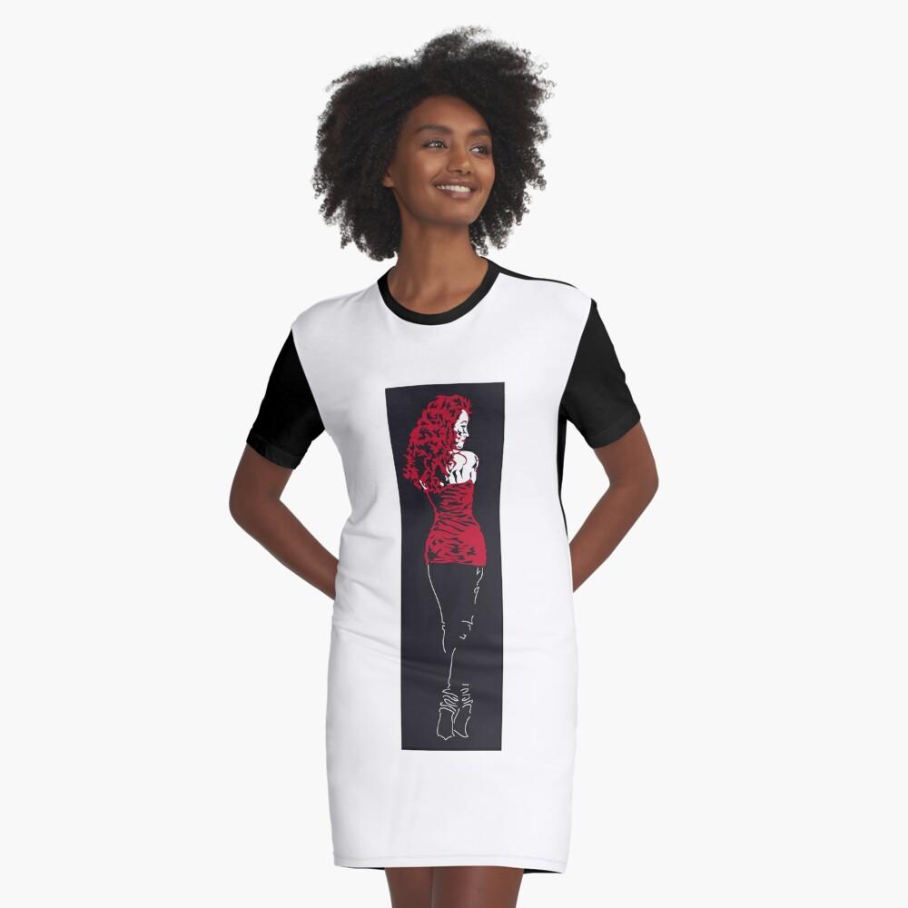Scarlet T-Shirt Kleid