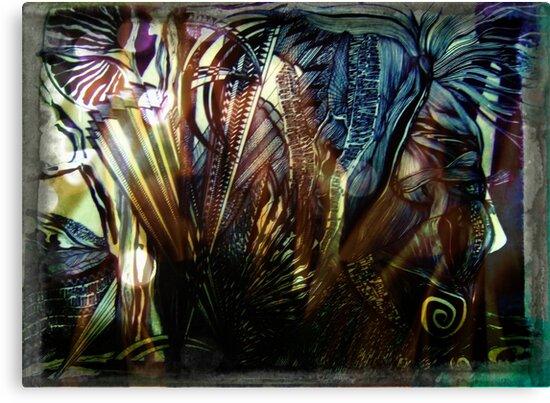 KELKIRK ST.  I am mesmerised... by Lesley A Marsh