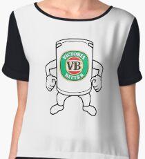 victoria bitter Women's Chiffon Top