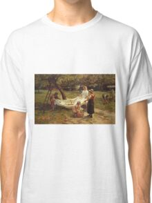 Frederick Morgan - The Apple Gatherers Classic T-Shirt