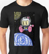 Panic Bomber W - Space 1 ☾✩ Unisex T-Shirt