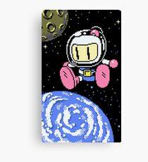 Panic Bomber W - Space 1 ☾✩ Canvas Print