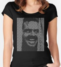 The Shining - All Work And No Play Makes Jack A Dull Boy Women's Fitted Scoop T-Shirt