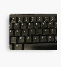 Keyboard  Canvas Print