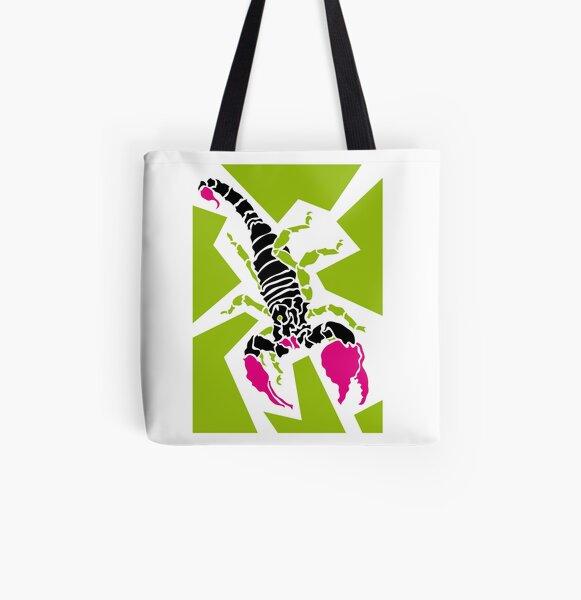 Scorpion Allover-Print Tote Bag