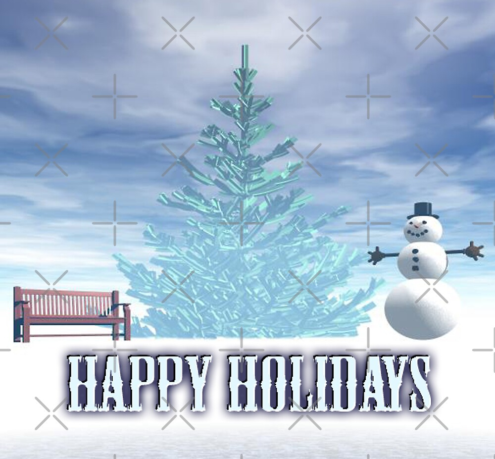 Happy Holidays by Tammy Soulliere