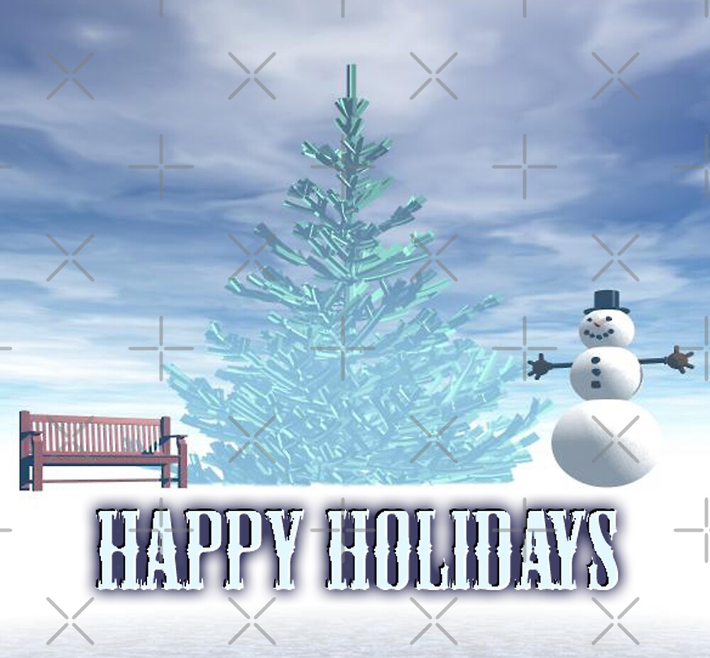 Happy Holidays by Tammy Soulliere Ratliff