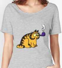 Garfield with pipe Women's Relaxed Fit T-Shirt