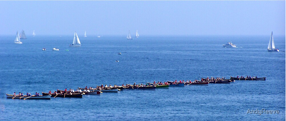 The Start Line - Gig Racing by AndyReeve