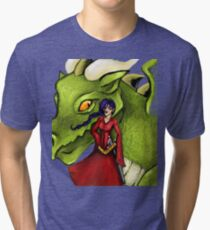 Dealing with fantasy Tri-blend T-Shirt