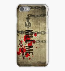 Kill Me With Kiss iPhone Case/Skin