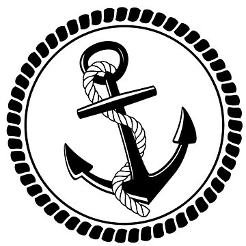 Anchor & Rope by SandraWidner