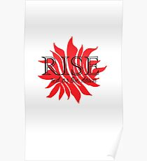 Rise Red Poster