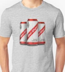 Red Stripe Three Lager Cans Unisex T-Shirt