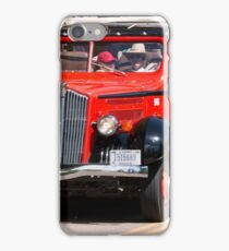 Iconic Red Bus iPhone Case/Skin