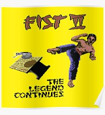 Gaming [C64] - Fist II (The Legend Continues) Poster