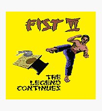 Gaming [C64] - Fist II (The Legend Continues) Photographic Print