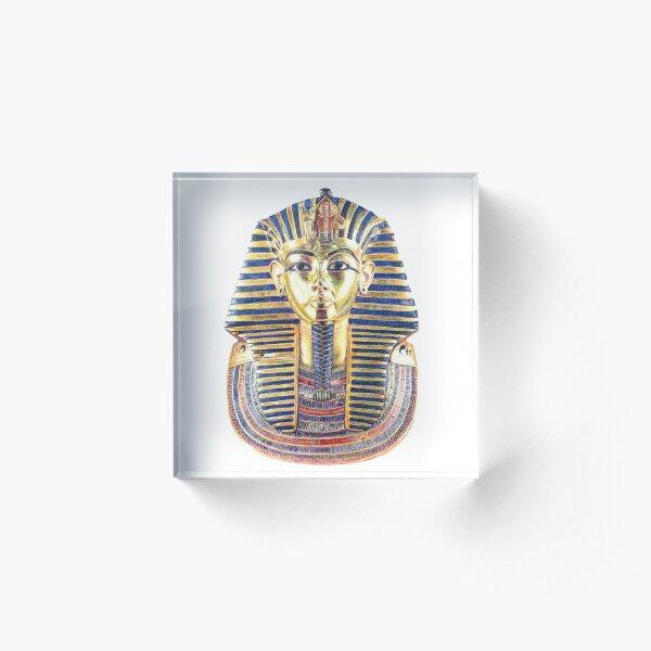 King Tutankhamun Acrylic Block