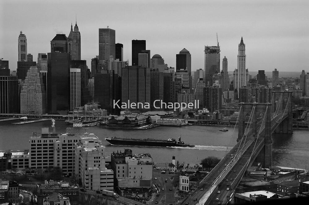 NY Skyline by Kalena Chappell