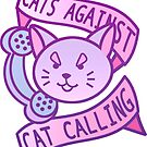 Cats Against Cat Calling by Elisecv