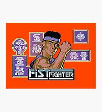Gaming [C64] - Fist Fighter Photographic Print