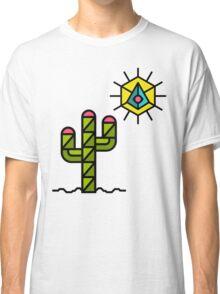 Cactus and sun, California, Mexico, Australia, Desert, Cacti Classic T-Shirt