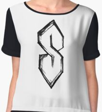 that old school S by Tai's Tees Women's Chiffon Top