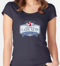 Sasha's Lady Nuts Women's Fitted Scoop T-Shirt