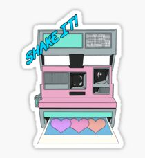 Shake It Like A Polaroid Picture Sticker