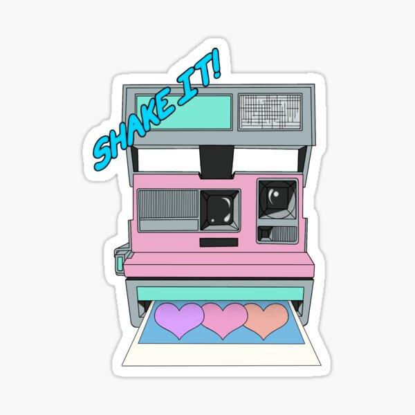 Shake It Like A Polaroid Picture Sticker