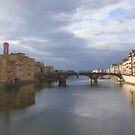 View From The Ponte Vecchio by robbie010