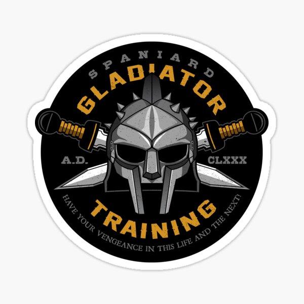 Mi nombre es Gladiador Pegatina