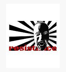 Resistance T-Shirt Photographic Print