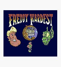 Gaming [C64] - Freddy Hardest Photographic Print