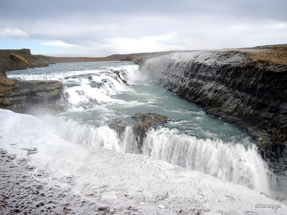 Icelandic Waterfalls by sideways
