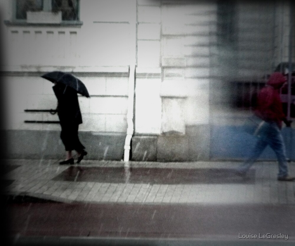 Rainy day... by Louise LeGresley