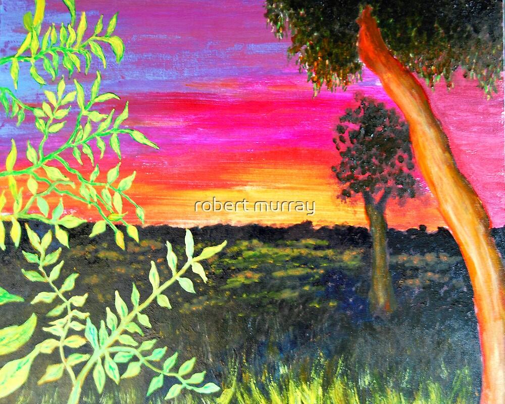 sunrise from my door by robert murray