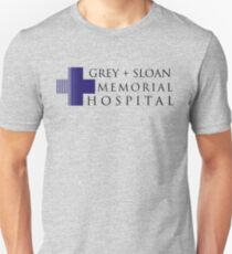 Grey + Sloan Memorial Hospital Unisex T-Shirt