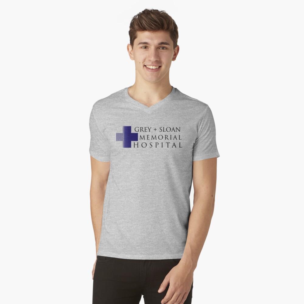Grey + Sloan Memorial Hospital V-Neck T-Shirt