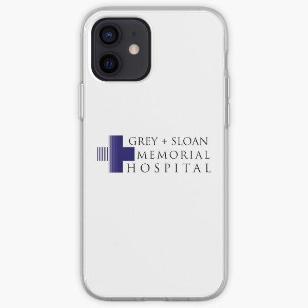 Grey + Sloan Memorial Hospital iPhone Soft Case