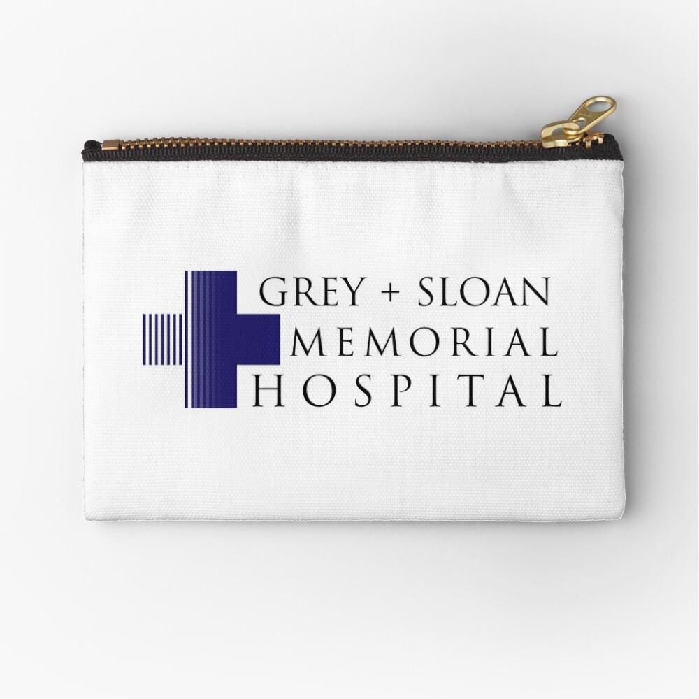 Grey + Sloan Memorial Hospital Zipper Pouch