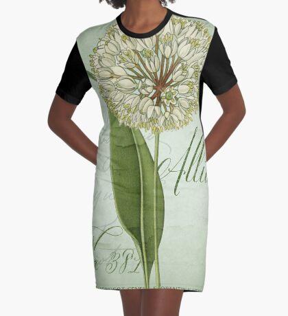 Allium II Graphic T-Shirt Dress